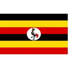 Uganda Flag Outdoor Nylon