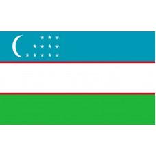 Uzbekistan Flag Outdoor Nylon