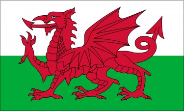 Wales Flag Outdoor Nylon