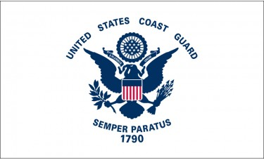 Coast Guard Flag Outdoor Nylon