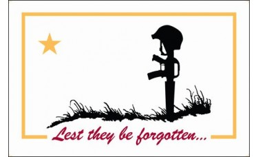 Lest They Be Forgotten Flag Outdoor Nylon