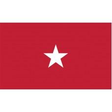 1 Star Army Brigadier General Outdoor Flag