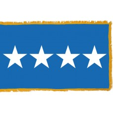 4 Star Air Force General Indoor Flag