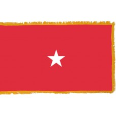 1 Star Marine Corps Brigadier General Indoor Flag