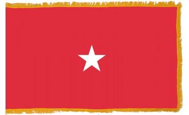 1 Star Marine Corps Brigadier General Indoor Flag