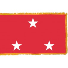 3 Star Marine Corps Lt. General Indoor Flag