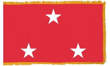 3 Star Marine Corps Lt. General Indoor Flag