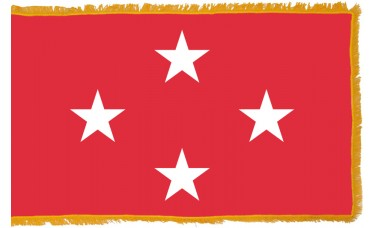 4 Star Marine Corps General Indoor Flag