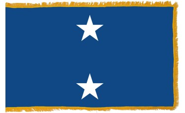 2 Star Seagoing Navy Rear Admiral Indoor Flag