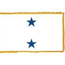 2 Star Non-Seagoing Navy Rear Admiral Indoor Flag