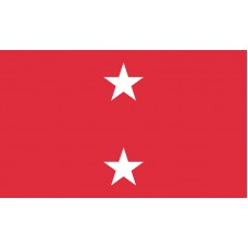 2 Star Marine Corps Major General Outdoor Flag