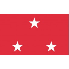 3 Star Marine Corps Lt. General Outdoor Flag