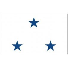 3 Star Non-Seagoing Navy Vice Admiral Outdoor Flag