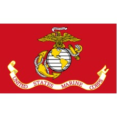 Marine Corps Flag Outdoor Polyester