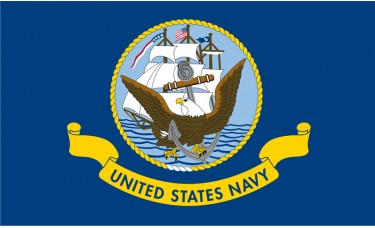 Navy Flag Outdoor Polyester