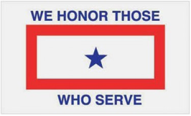 We Honor Those Who Serve Flag