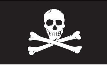 Jolly Roger Flag Outdoor Nylon