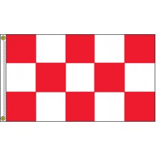 Checkered Red/White 3' x 5' Flag Outdoor Nylon