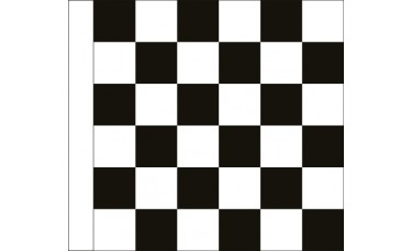 Motorcycle Racing Finish Checkered Flag