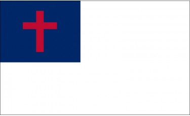 Christian Flag Outdoor Nylon