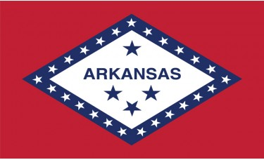 Arkansas Flag Outdoor Nylon