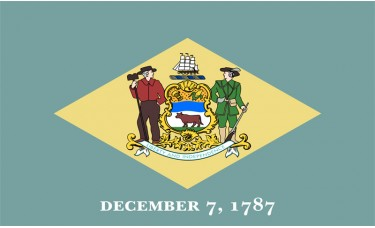 Delaware Flag Outdoor Nylon