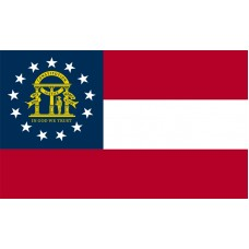Georgia Flag Outdoor Nylon