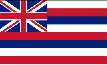 Hawaii Flag Outdoor Nylon