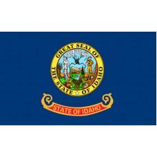Idaho Flag Outdoor Nylon