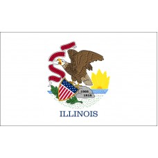 Illinois Flag Outdoor Nylon