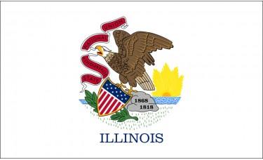 Illinois Flag Outdoor Nylon