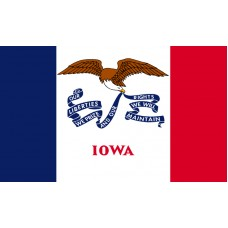 Iowa Flag Outdoor Nylon