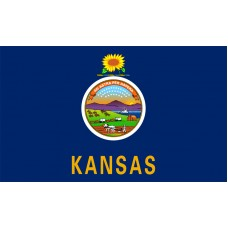 Kansas Flag Outdoor Nylon