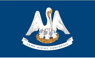 Louisiana Flag Outdoor Nylon