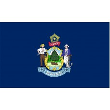 Maine Flag Outdoor Nylon
