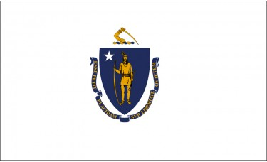 Massachusetts Flag Outdoor Nylon