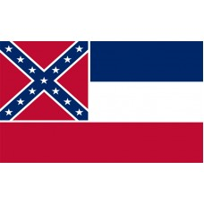 Mississippi Flag Outdoor Nylon