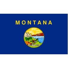 Montana Flag Outdoor Nylon