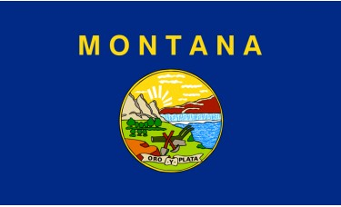 Montana Flag Outdoor Nylon