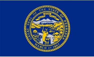 Nebraska Flag Outdoor Nylon