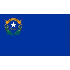 Nevada Flag Outdoor Nylon