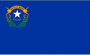 Nevada Flag Outdoor Nylon