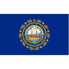 New Hampshire Flag Outdoor Nylon