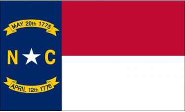 North Carolina Flag Outdoor Nylon