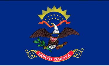 North Dakota Flag Outdoor Nylon