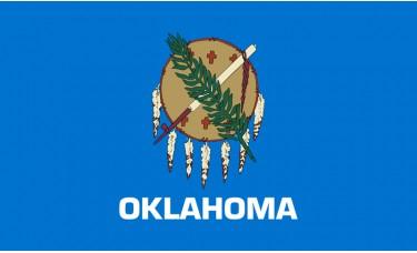 Oklahoma Flag Outdoor Nylon