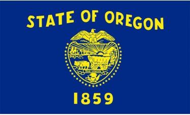 Oregon Flag Outdoor Nylon