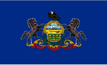 Pennsylvania Flag Outdoor Nylon