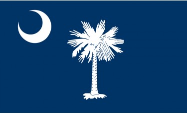 South Carolina Flag Outdoor Nylon