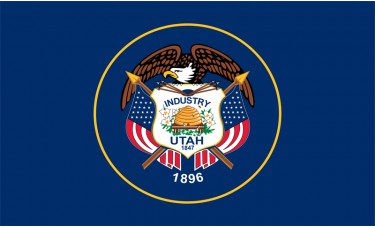 Utah Flag Outdoor Nylon